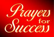 prayer for success showers