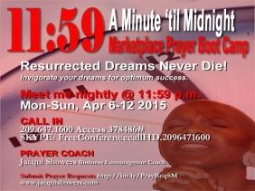 11-59-A Minute til Midnight promo