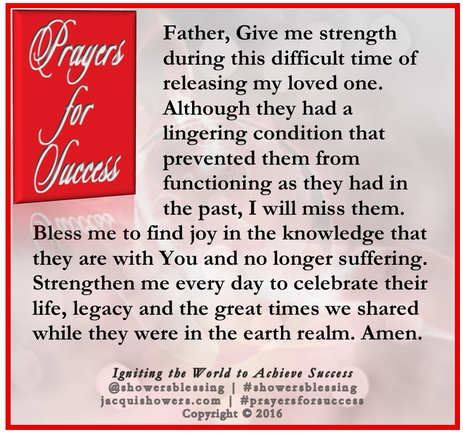 PRAYER FOR SUCCESS April 12 | Showers' Blessing Inspires