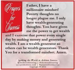 prayer for success october 23 showers blessing inspires